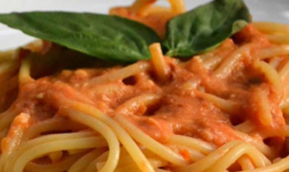 Espaguetti al Chipotle